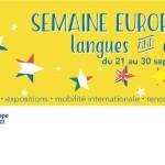 semaines des langues 2016 bandeau