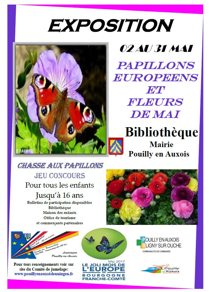 Joli Mois de mai 2017 - Expo papillons