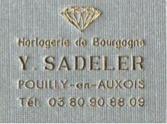 Joli mois de mai 2017 - Logo Y. SADELER